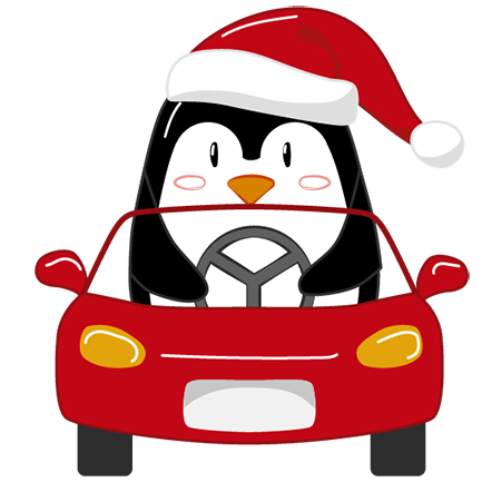Christmas Penguins 2018 messages sticker-9