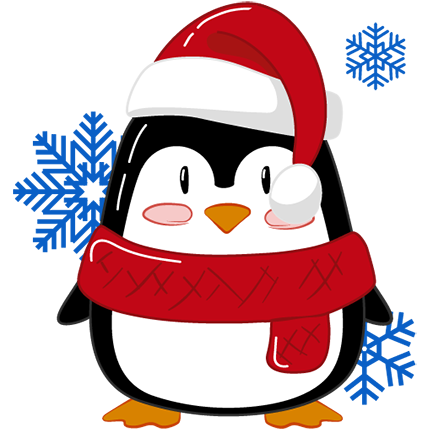 Christmas Penguins 2018 messages sticker-5