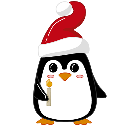 Christmas Penguins 2018 messages sticker-6