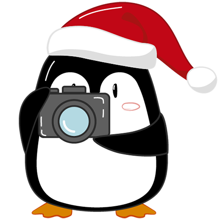 Christmas Penguins 2018 messages sticker-4