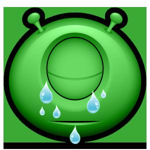 Alien Emojiz messages sticker-8