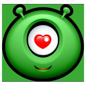 Alien Emojiz messages sticker-11