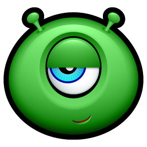 Alien Emojiz messages sticker-2