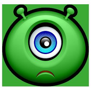 Alien Emojiz messages sticker-0