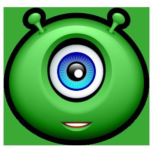 Alien Emojiz messages sticker-4