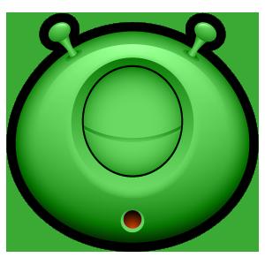 Alien Emojiz messages sticker-9