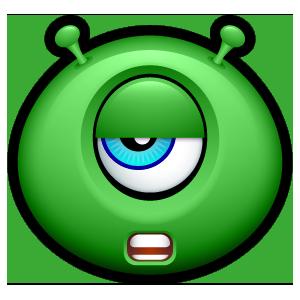 Alien Emojiz messages sticker-5