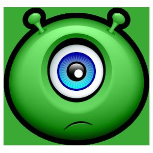 Alien Emojiz messages sticker-6