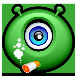 Alien Emojiz messages sticker-3