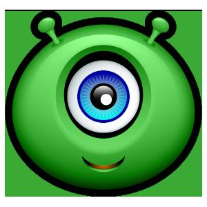 Alien Emojiz messages sticker-1