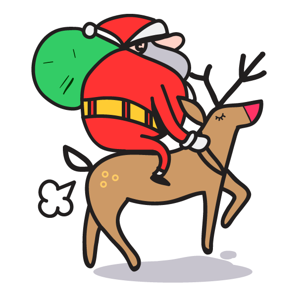 Treat Holiday Stickers messages sticker-11