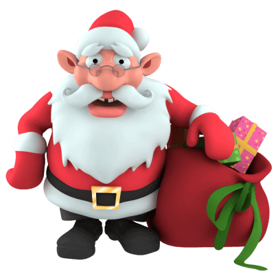 Christmas Stickers – live 3D emoji for iMessage messages sticker-3