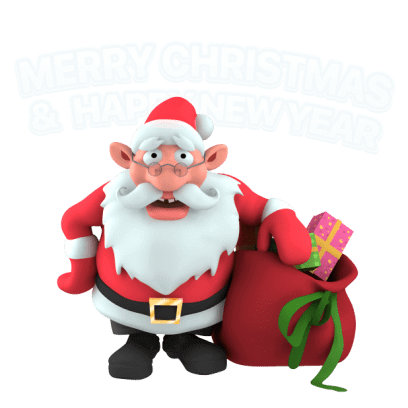 Christmas Stickers – live 3D emoji for iMessage messages sticker-5