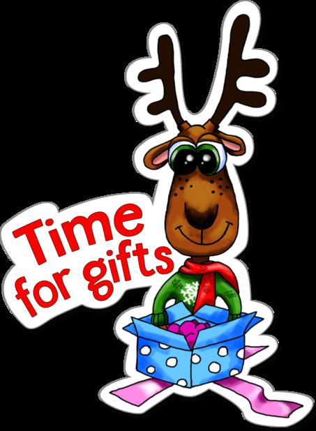 Xmas Reindeer Stickers messages sticker-7