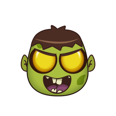 Zombie Invasion - Smash 'em All! messages sticker-0