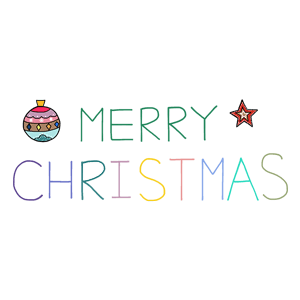StiPia - Xmas messages sticker-9