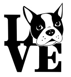 Boston Terrier Stickers messages sticker-10