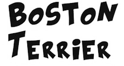 Boston Terrier Stickers messages sticker-3
