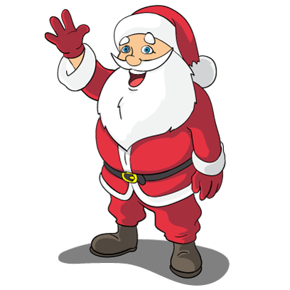 Christmas Stickers: Santa Claus and Friends messages sticker-8