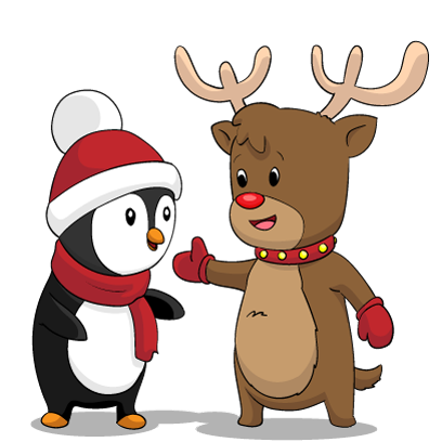 Christmas Stickers: Santa Claus and Friends messages sticker-6