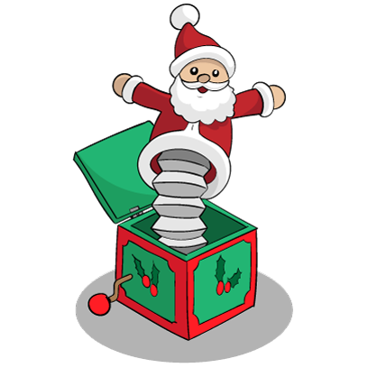 Christmas Stickers: Santa Claus and Friends messages sticker-9