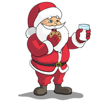 Christmas Stickers: Santa Claus and Friends messages sticker-10