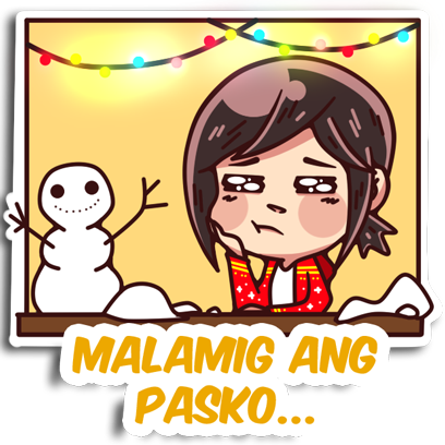 PINASayang PASKO messages sticker-5