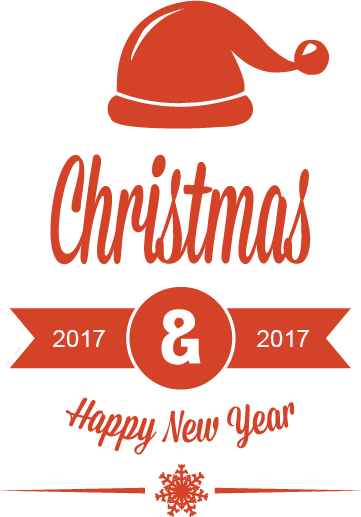 Christmas & New year 2017 Stickers messages sticker-4