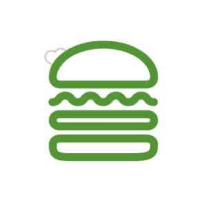 Shake Shack Stickers messages sticker-2