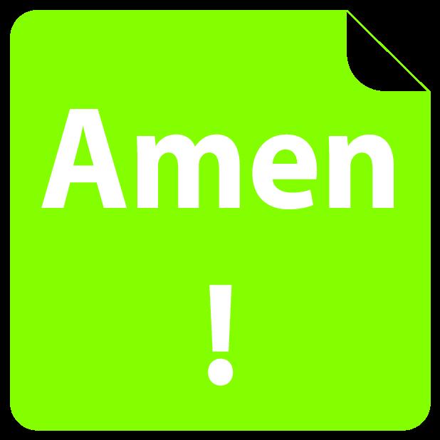 i love Jesus! Amen (FREE) Emoji Sticker messages sticker-10
