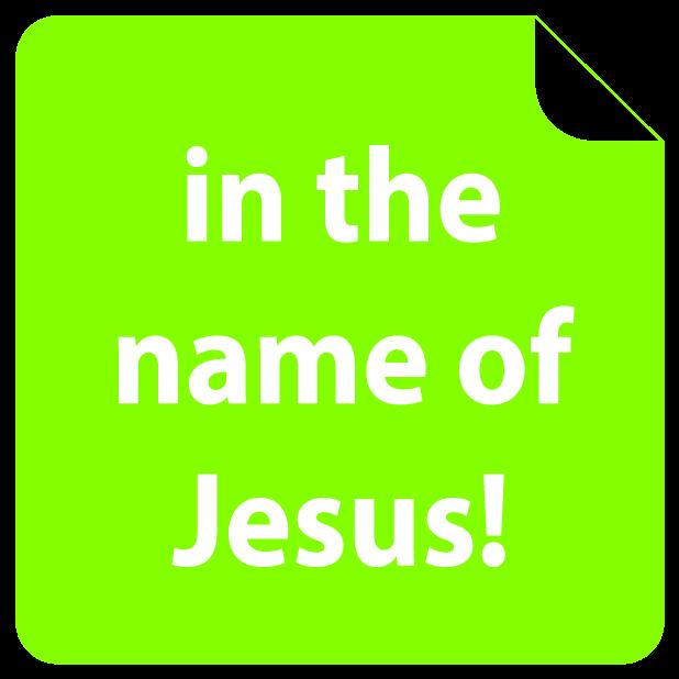 i love Jesus! Amen (FREE) Emoji Sticker messages sticker-6