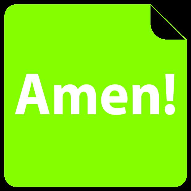 i love Jesus! Amen (FREE) Emoji Sticker messages sticker-9