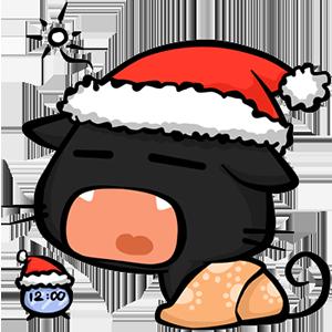 Hiro Shino - New Year Sticker messages sticker-8