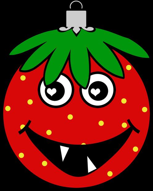 Erdbeermän ist Chris Baumkugel messages sticker-6
