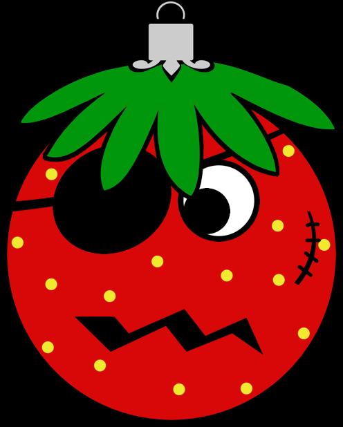 Erdbeermän ist Chris Baumkugel messages sticker-8