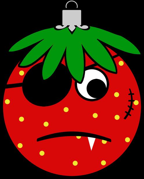 Erdbeermän ist Chris Baumkugel messages sticker-5