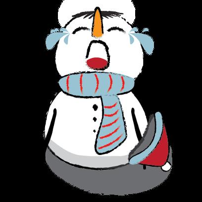 Snowman Stickers - emoji for iMessage messages sticker-9