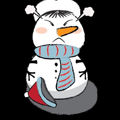 Snowman Stickers - emoji for iMessage messages sticker-5