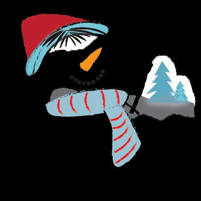 Snowman Stickers - emoji for iMessage messages sticker-1