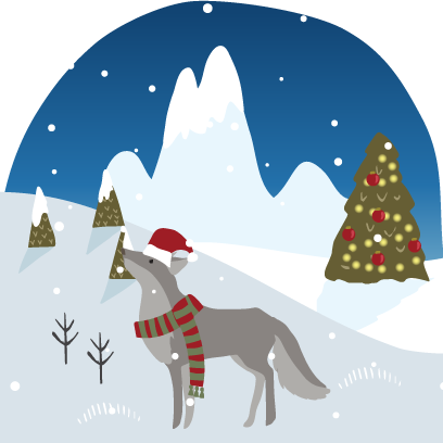 Wild Christmas - Animated Christmas Stickers messages sticker-1