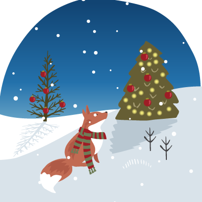 Wild Christmas - Animated Christmas Stickers messages sticker-6