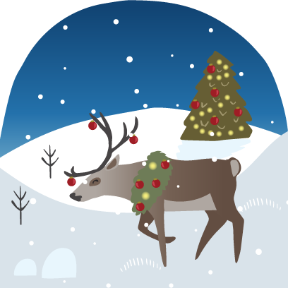 Wild Christmas - Animated Christmas Stickers messages sticker-4