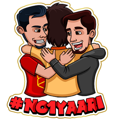 #No1Yaari Stickers messages sticker-0
