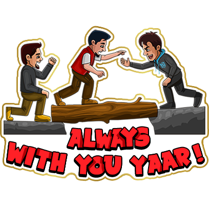 #No1Yaari Stickers messages sticker-8