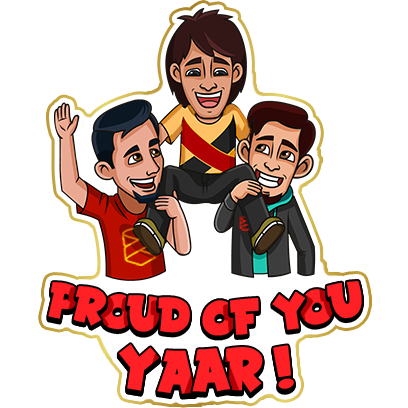 #No1Yaari Stickers messages sticker-4