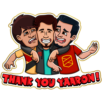 #No1Yaari Stickers messages sticker-6