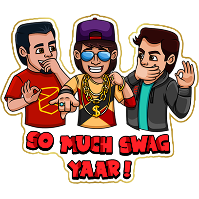 #No1Yaari Stickers messages sticker-11