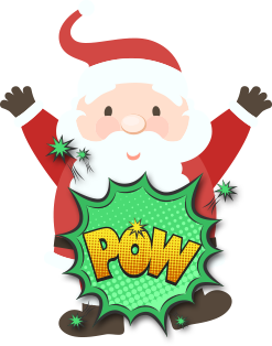 Xmas Santa Stickers messages sticker-5