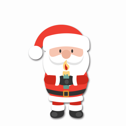 Xmas Santa Stickers messages sticker-1