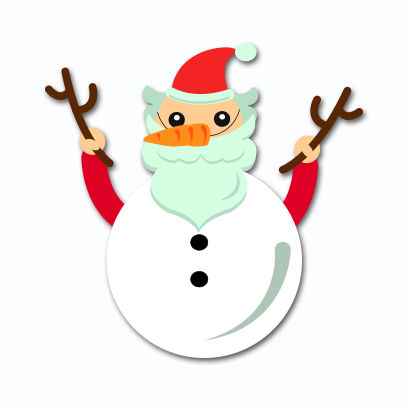 Xmas Santa Stickers messages sticker-9